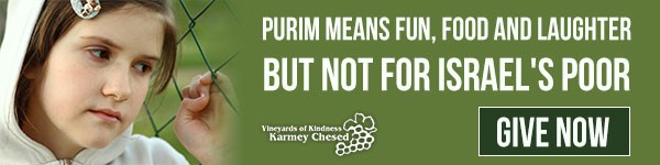 Help Needy Families in Israel Celebrate Purim - Give Now
