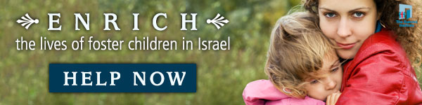 Enrich the Life of a Foster Child in Israel Today