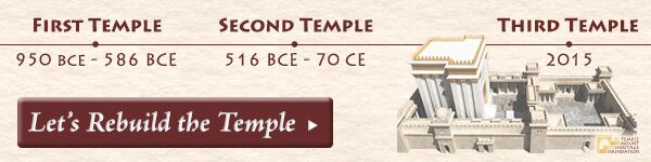 Let's Rebuild the Temple Now!