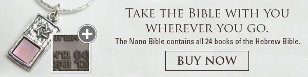 Jerusalem Nano Bible Necklace