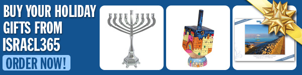 Get all of your Hanukkah gifts from the Israel365 store!