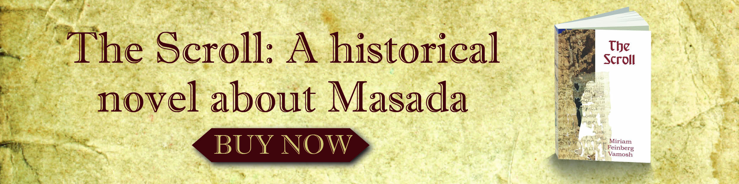 The scroll: a historical novel about masada. Buy now.