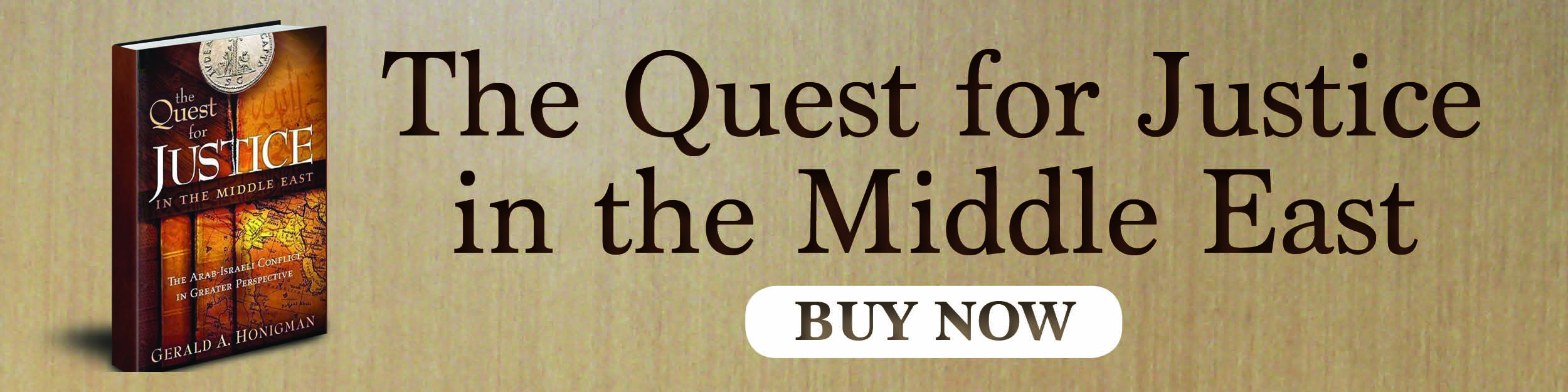 The quest for justice in the middle east. Buy now!