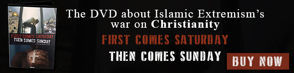 Watch the chilling DVD about Islamic extremism. First comes Saturday; Then comes Sunday. Buy now!
