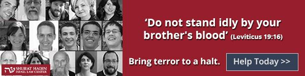 "Bring terror to a halt! ""Don't stand idly by your brother's blood"" (Leviticus 19:16). Help Today!"