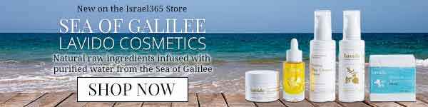 Sea of Galilee Lavido Cosmetics: Natural, raw ingredients infused with purified water from the Sea of Galilee. Shop now!