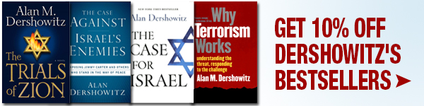 Get 10% Off Today on Best Sellers from Alan Dershowitz