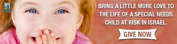 Bring More Love to the Life of a Special Needs Child in Israel Today